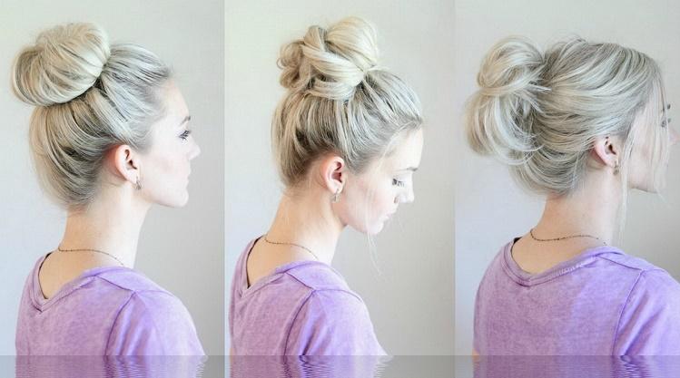 Cách búi tóc phồng dành cho tóc mỏng