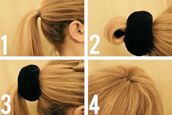 Búi tóc độn siêu đơn giản cho mái tóc đẹp hấp dẫn