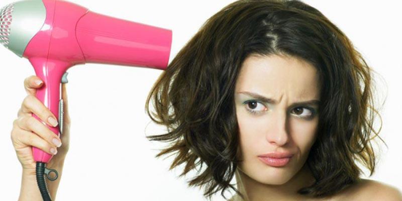 Bạn đã sấy tóc đúng cách