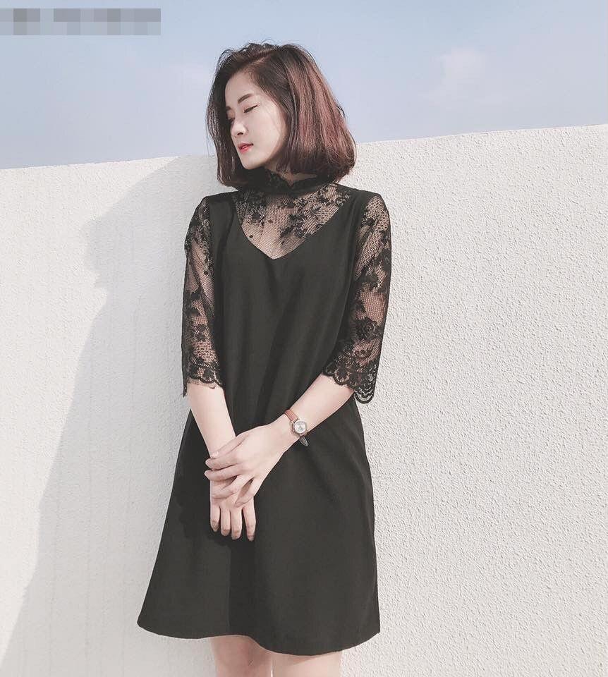 Váy màu đen