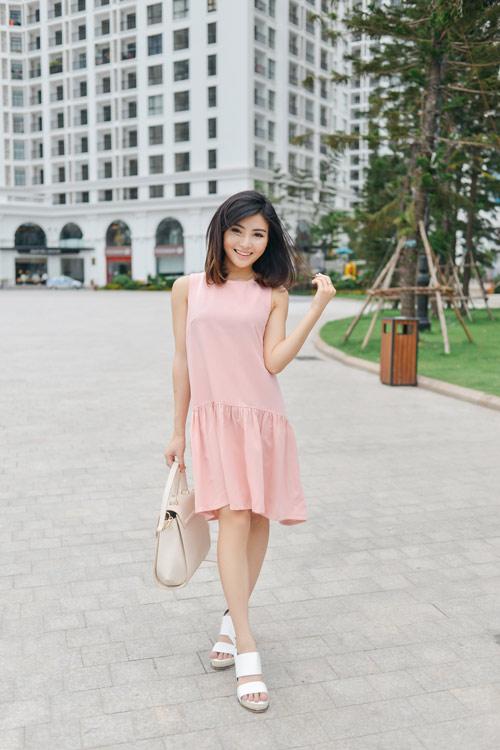Váy cho bạn nữ chân ngắn