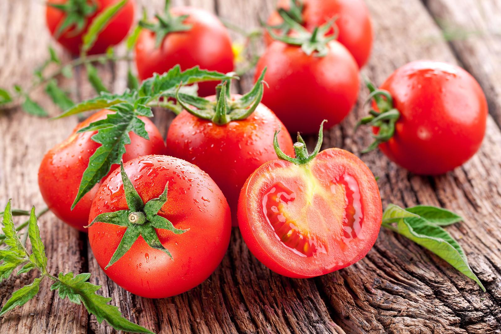 Cà chua chống nắng cực kì hiệu quả
